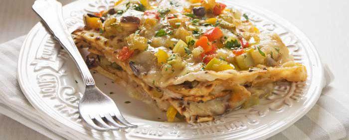 lasagnette di pane azzimo