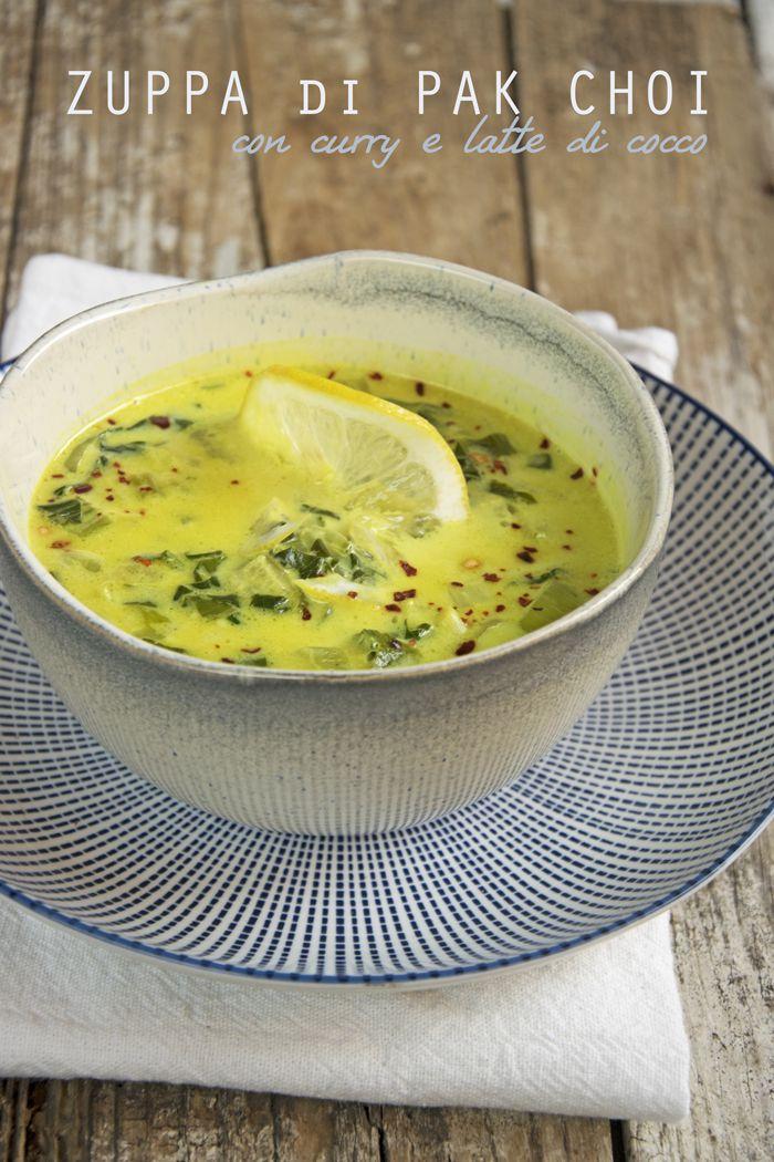Zuppa di pak choi