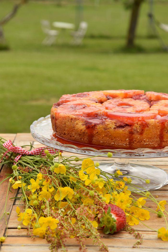 Torta-rovesciata-all'ananas