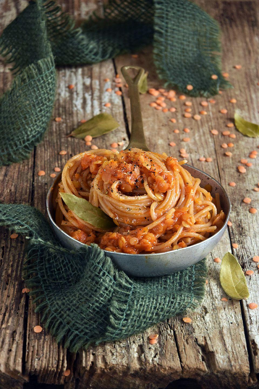 Spaghetti di farro con ragù