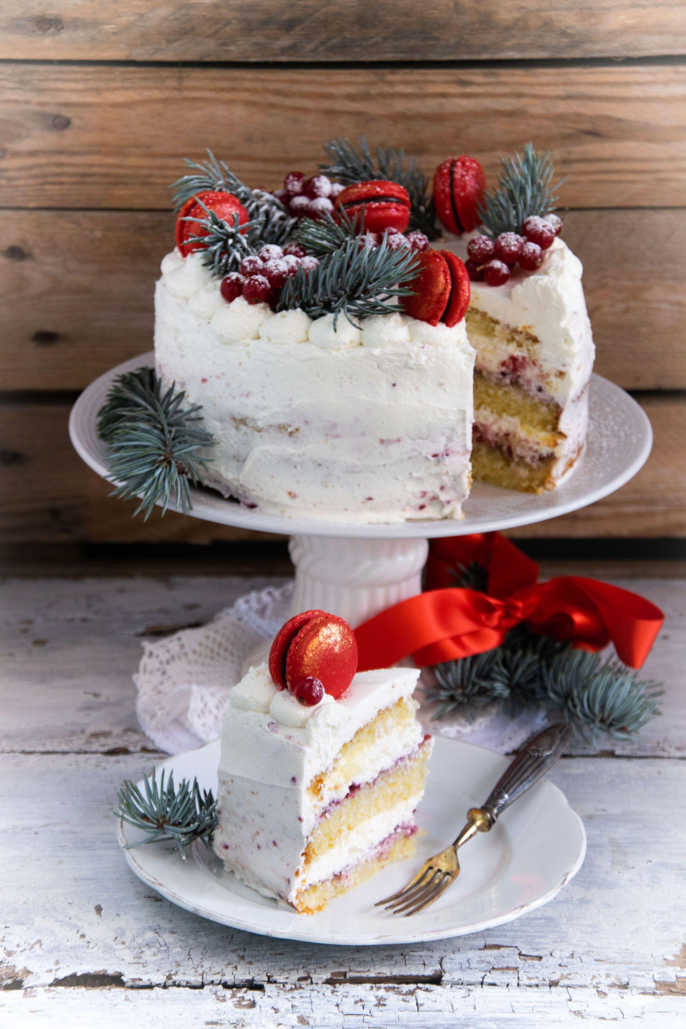Torte Decorate Per Natale torta di natalee tanti auguri ❤️ - ilgattoghiotto.it