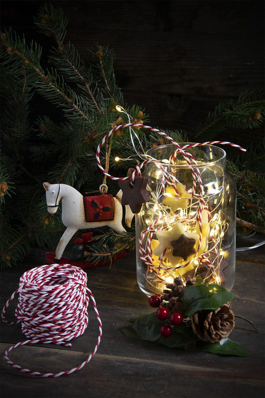 Stelline di frolla natalizie