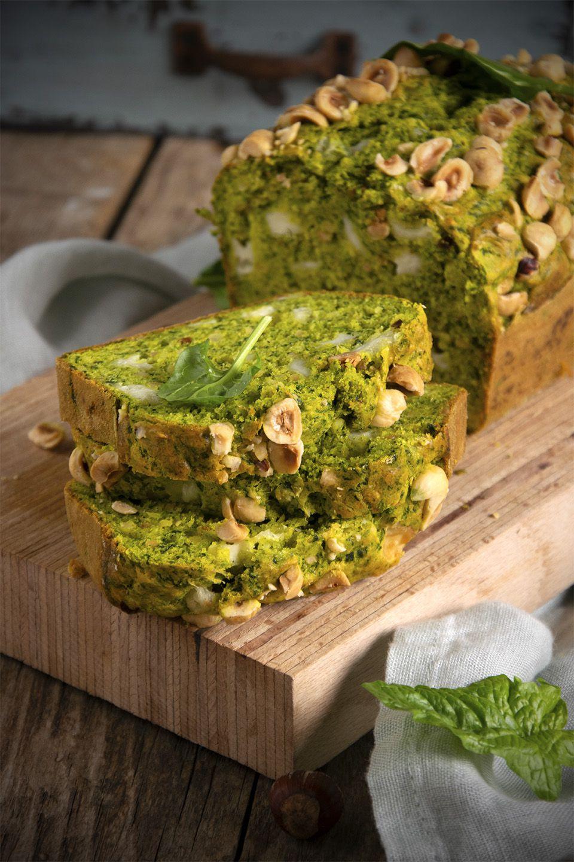 Cake agli spinaci e curcuma