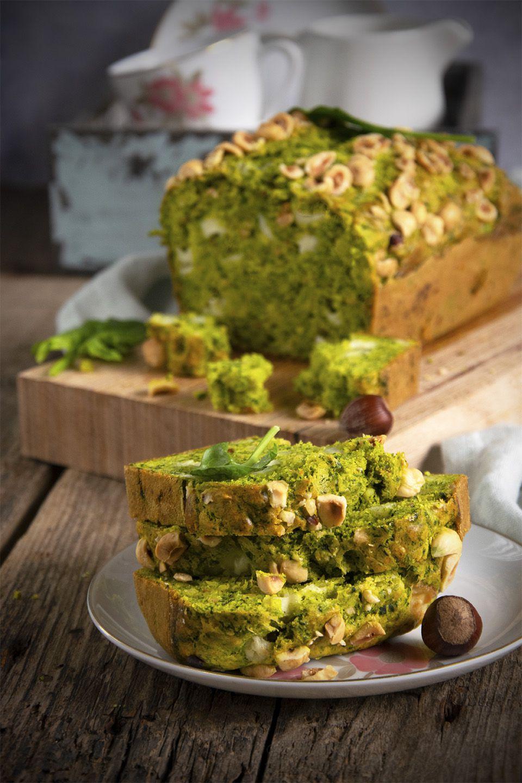Cake agli spinaci