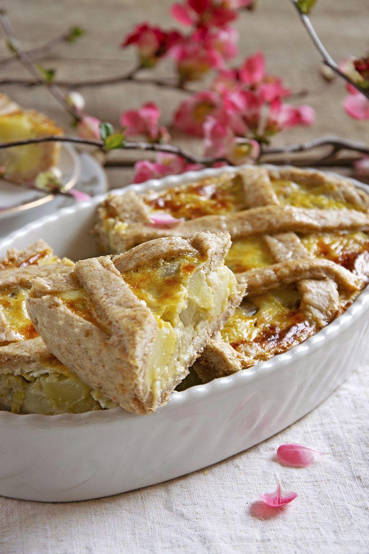 Torta salata con indivia
