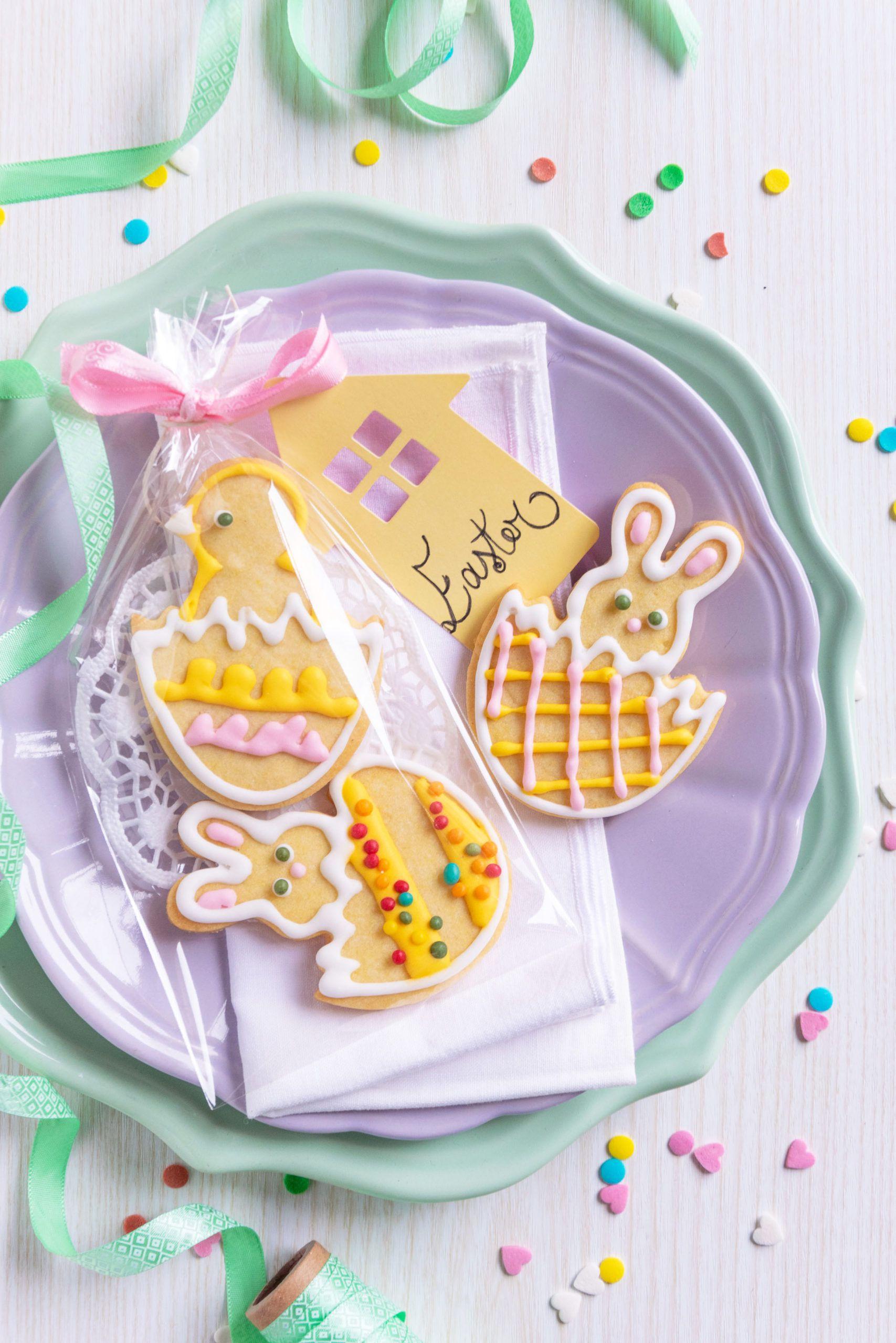 Biscotti coniglietto Pasqua