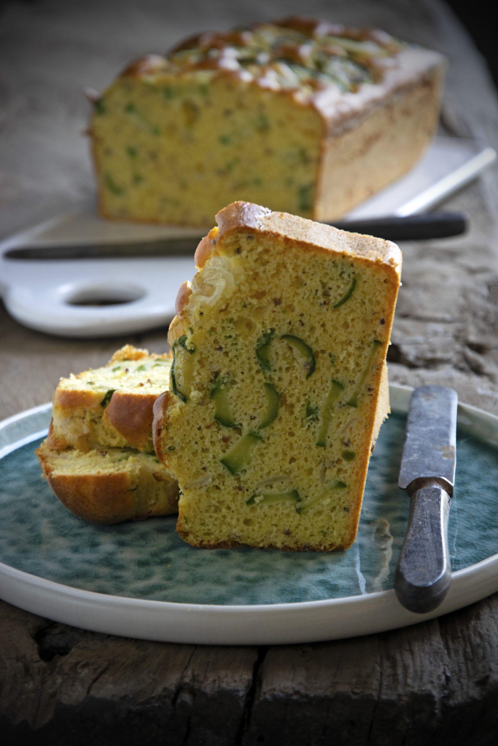 Plumcake con farina di ceci e zucchine
