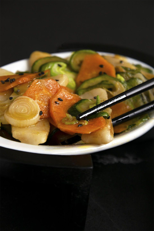Gnocchi di riso e verdure