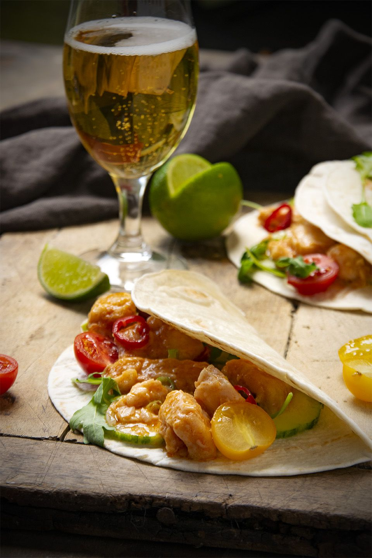 Tacos di pesce squisiti