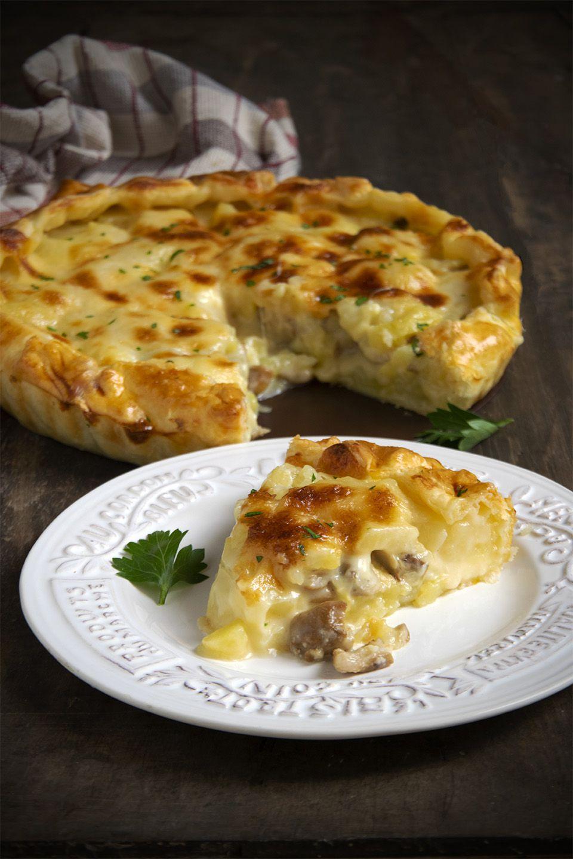 Sfoglia patate e porcini