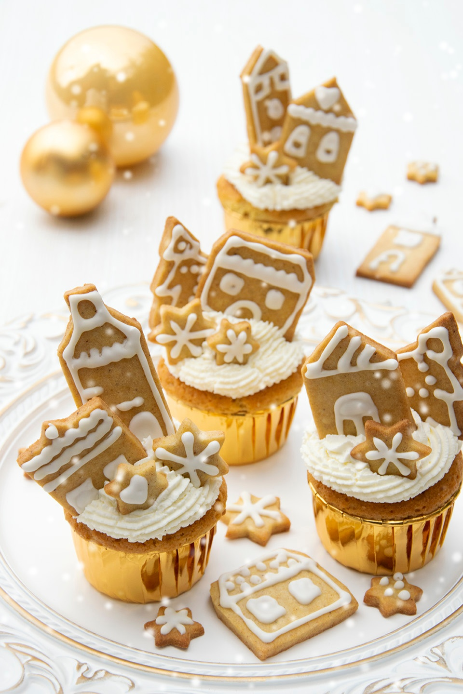 Cupcakes golosi delle feste