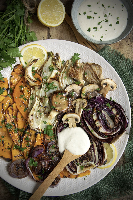Grigliata di verdure autunnali