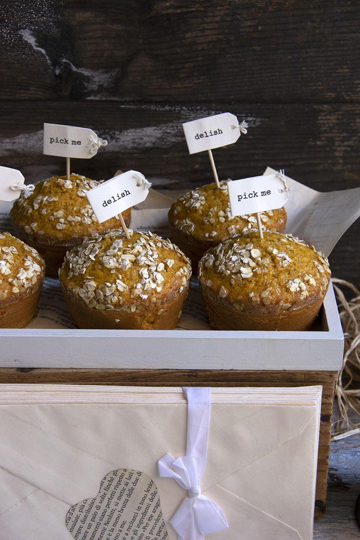 Muffins morbidi alle carote