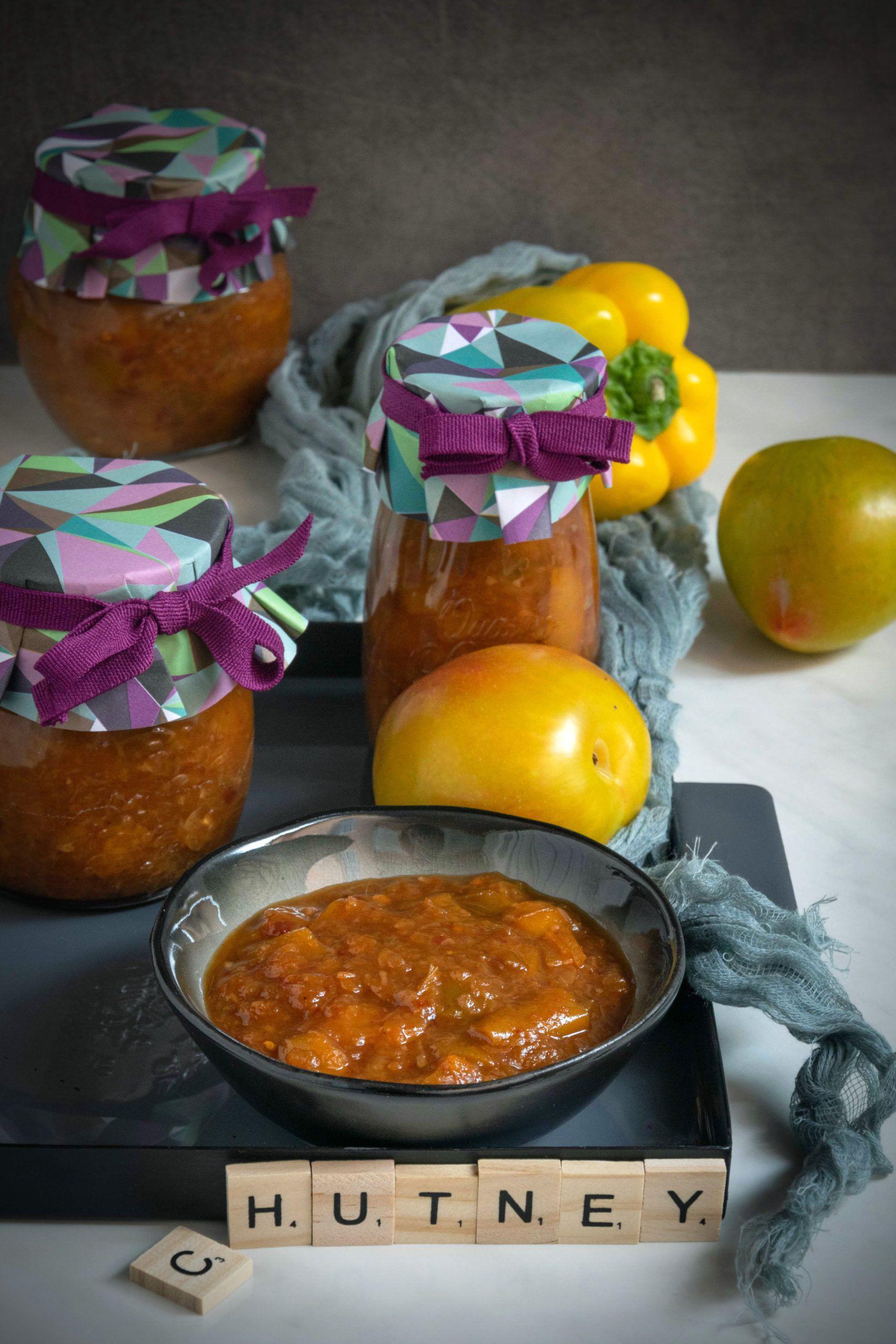 Chutney di peperoni gialli